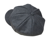The octagonal Britney Hat is adjustable in the back and comes in 3 different colors -red wine, grey and black. We are loving this wool hat as an add on to so many of our adorable collection pieces.