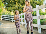 We are so excited to launch our beautiful Mommy & Me matching yoga sets! Each set is handmade in Miami, Florida and is super comfy. Each fit is true to size.   *A set includes printed leggings and matching bra.  All of our prints are stylish, funky and fashionable surely leaving you and your budding yogi to be the talk of the class!   100% polyester