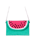 With its durable construction, you stay confident while travelling or going to the party. These accessories are the perfect choice for any fashionista's wardrobe. Colorful and cute, the attractive combination makes this bag worth buying it. Its superior space allows you to keep all essential stuff like aviators, mobile phone, and cosmetics inside it. Pair it with our Mommy & Me Watermelon beach cover ups