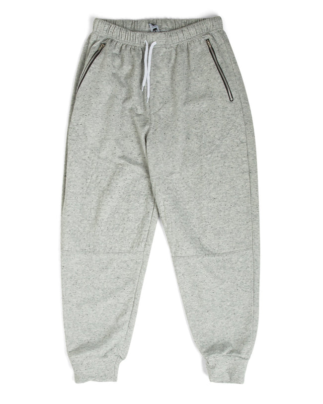 Littlest Prince French Terry Moto Sweatpants Gray