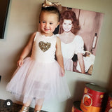 Petite Hailey Heart Tutu Dress