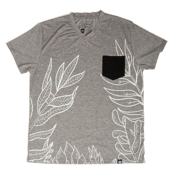 The Littlest Prince Gray & Black Tropical Tee is perfect for island vacations or Spring/Summer days. The tropical print along with the bold  colors will definitely have your little man standing out. This set is perfect for stylish brothers as well as for matching daddy!