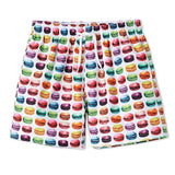 Cool boardshorts for boys in Marvelous Macaroons for Munchkins. Made from high quality fabrics. See matching bikini for sisters.