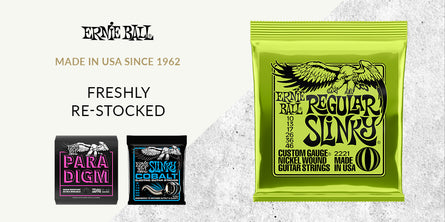 Ernie Ball Strings at Swee Lee