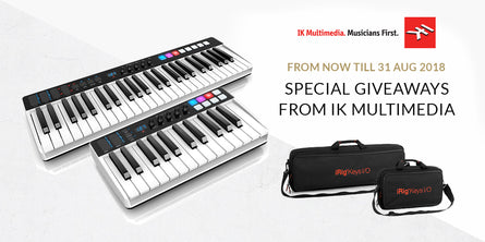 IK Multimedia iRig I/O Keys and Travel Bags