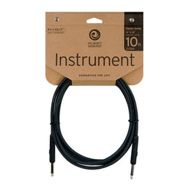 D'Addario Planet Waves PW-CGT-10 10' Classic Series Instrument Cable, Straight