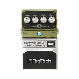 Digitech CM-2 Hardwire Tube Overdrive Guitar Effects Pedal