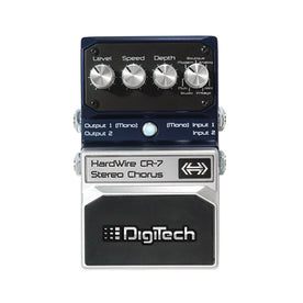 Digitech CR-7 Hardwire Stereo Chorus Guitar Effects Pedal