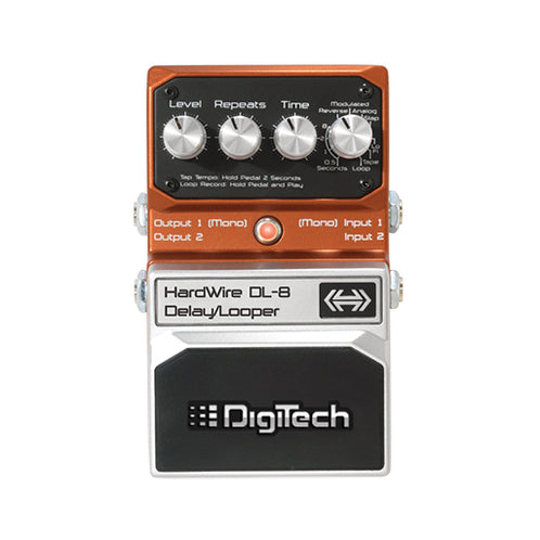 Digitech DL-8 Hardwire Delay/Looper Guitar Effects Pedal