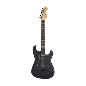 Fender Artist Jim Root Stratocaster Electric Guitar, Ebony FB, Flat Black