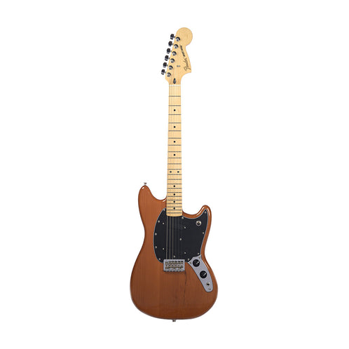Fender Special Edition Mustang Electric Guitar, Maple FB, Faded Mocha (B-Stock)