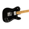 Fender Vintera 70s Telecaster Custom Electric Guitar, Maple FB, Black