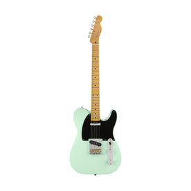Fender Vintera 50s Telecaster Modified Electric Guitar, Maple FB, Surf Green