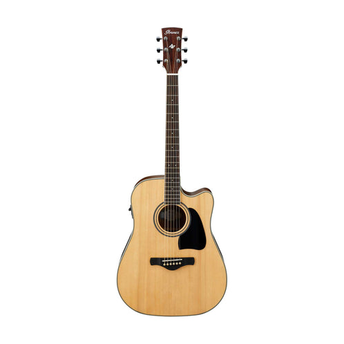 Ibanez AW70ECE-LG Artwood Acoustic Guitar, Natural Low Gloss