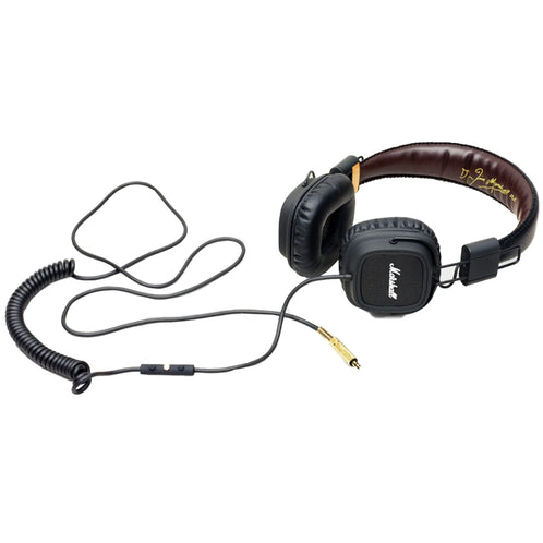 Marshall Major FX Headphones, Black
