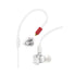 Pioneer DJE-1500W Professional DJ In-Ear Headphones, White
