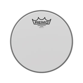 Remo BA-0108-00 8inch Batter Ambassador Coated Drum Head