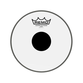 Remo CS-0308-10 8inch Batter Controlled Sound Clear Black Dot On Top Drum Head