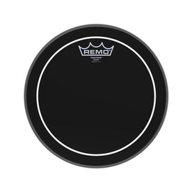 Remo ES-0610-PS 10inch Batter Pinstripe Ebony Drum Head