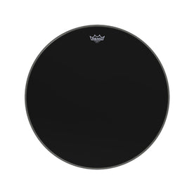 Remo ES-1026-00 26inch Bass Ambassador Ebony Drum Head