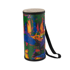 Remo KD-1506-01 6inch Kids Percussion Konga Drum, Fabric Rain Forest