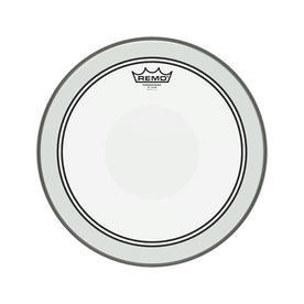 Remo P3-0314-C2 14inch Batter Powerstroke III Clear Clear Dot Top Side Drum Head