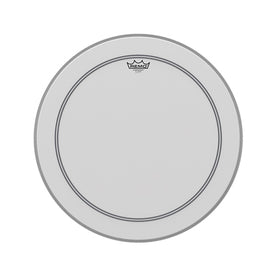 Remo P3-1122-C2 22inch Powerstroke III Coated White Falam Patch Bass Drum Head