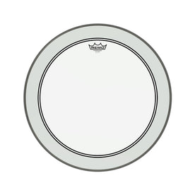 Remo P3-1320-C2 20inch Powerstroke III Clear White Falam Patch Bass Drum Head