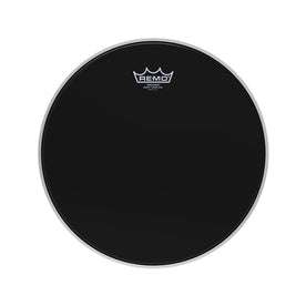 Remo PS-0414-MP 14inch Batter Crimplock Pinstripe Ebony Drum Head