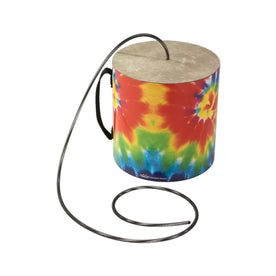 Remo SP-0606-TD 6inchx6inch Thunder Tube, Tie Dye Graphics