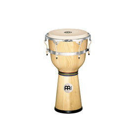 MEINL Percussion DJW3NT 12inch Floatune Series Wood Djembe, Natural