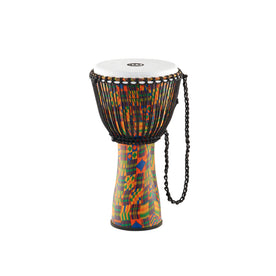 MEINL Percussion FADJ2-L 12inch Rope Tuned Journey Series Djembe, Kenyan Quilt