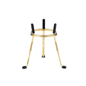 MEINL Percussion ST-MSA11G 11inch Steely II Conga Stand, Gold for Mongo Santamaria Artist Series