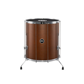 MEINL Percussion SU22-L-AB-M 22inch Traditional Stand Alone Surdo, African Brown