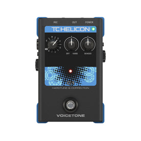 TC-Helicon VoiceTone C1 Pitch Correction Vocal Effects Pedal (000-DDY01)