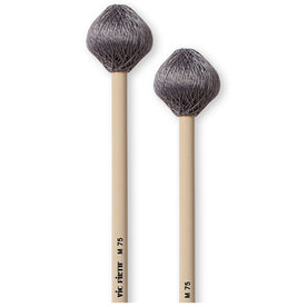 Vic Firth M75 Corpsmaster Vibe Mallet, Grey Cord, Medium