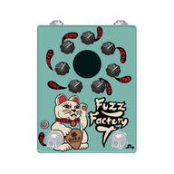 Zvex Ltd Ed Hand Painted Fuzz Factory 7 Guitar Effects Pedal