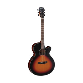 Cort SFX-E Acoustic Guitar, 3-Tone Satin Sunburst