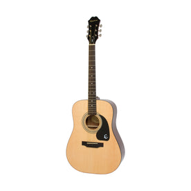 Epiphone DR-100 Acoustic Guitar, RW FB, Natural