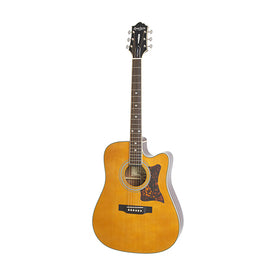 Epiphone Masterbilt DR-500MCE Acoustic/Electric Guitar, RW Neck, Natural