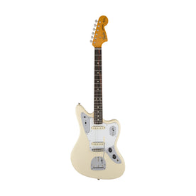 Fender Artist Johnny Marr Jaguar Electric Guitar, RW FB, Olympic White