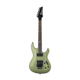 Ibanez S520EX-MOF Electric Guitar, Metallic Olive Flat
