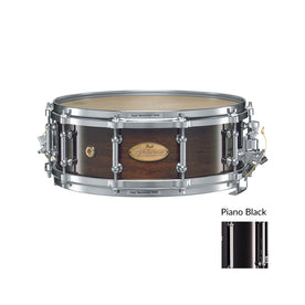 Pearl PHP1450-103 14x5inch Philharmonic Concert Snare Drum, 6-Ply Maple, Piano Black