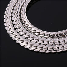 6mm Stainless Steel Cuban Link (Curb Heavy) Chain Necklace