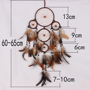 Miracle Feather Dream Catcher Wall Hanging