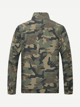 Men's Camouflage Denim Jacket