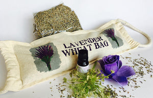 All Natural Lavender Wheat Heating Pack