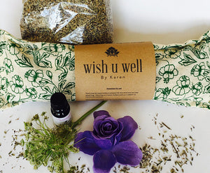 Wish You Well All Natural Lavender Wheat Heating Pack