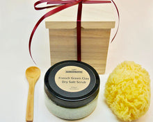 French Clay Poppy Seed & Dead Sea Salt Dry Scrub