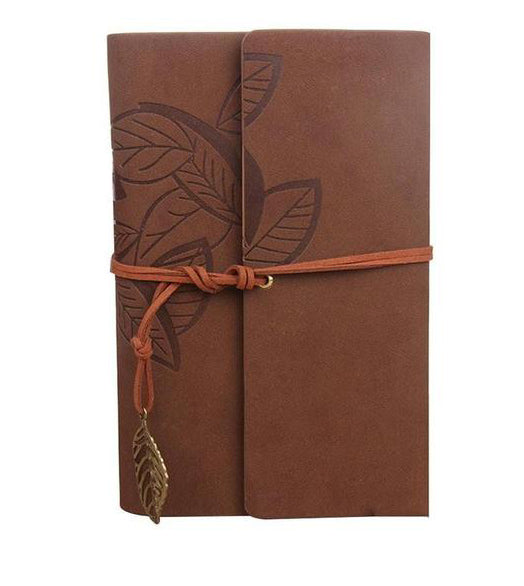 Travel Journal Diary Faux Leather